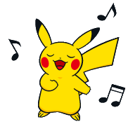 File:Singing Pikachu BW.png