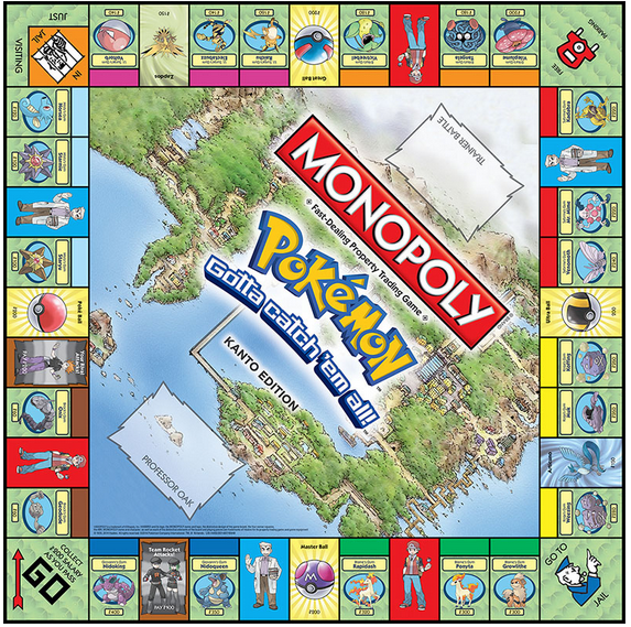 File:Monopoly Pokémon Kanto Edition board.png