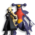 Masters Dream Team Maker Cynthia and Garchomp.png