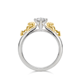 U-Treasure Ring Double Pikachu Silver Yellow Gold.png