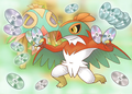 Hawlucha's Fighting Moves artwork PSMD.png