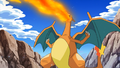 Ash Charizard newly evolved.png