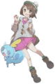 Gloria Sobble Pokémon Center Trainer artwork.png