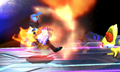 Fennekin Flamethrower SSB4.png