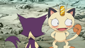 Meowth in love.png