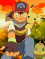 Ash inviting Chimchar.png