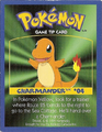 Charmander game tip card Kellogg.png