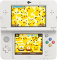 Lots of Pikachu Nintendo 3DS theme.png