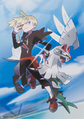 Gladion and Silvally.png