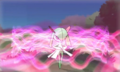 XY Prerelease Kirlia attacked.png