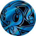 2018 Championship Point Blue Manaphy Coin.png
