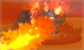 XY Prerelease Munchlax attacked.png