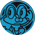 KSS Blue Froakie Coin.png