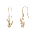 U-Treasure Earrings Umbreon Yellow Gold.png