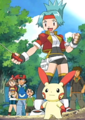 Solana and Plusle.png