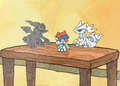 DW Reshiram Zekrom and Keldeo Pokémon Dolls.png