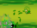 BW Prerelease Snivy battle.png