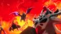 Mega Heracross Mega Aerodactyl anime.png