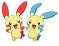 Plusle Minun M07.png