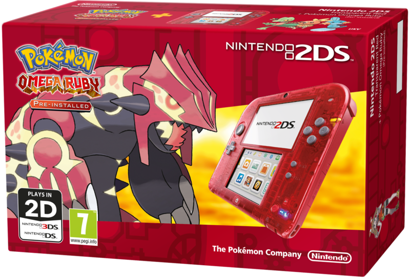 File:Nintendo 2DS Transparent Red Box Omega Ruby.png