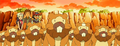 Bidoof group anime.png