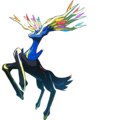 Legendary Pokémon Celebration Xerneas 2.png