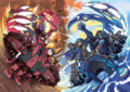 Team Magma vs Team Aqua artwork.png