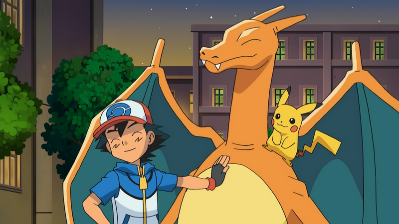 File:Ash and Charizard.png