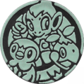 DP1 Green Sinnoh Starters Coin.png