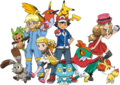 Protagonists and Pokémon XY.png