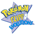 Dutch Pokémon Flippo Logo Evolutions.png
