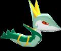Serperior Pokémon Rumble Blast.png