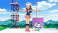 Dawn and Piplup Sinnoh Pokémon Hustle.png
