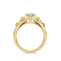 U-Treasure Ring Double Pikachu Yellow Gold.png