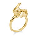 U-Treasure Ring Pikachu Yellow Gold.png