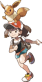 Lets Go Pikachu Eevee Female Trainer.png