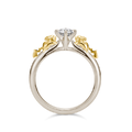 U-Treasure Ring Double Pikachu Yellow White Gold.png