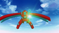 Deoxys green crystal Defense Forme.png