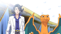 Calem Charizard Professor Sycamore PG.png