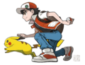 Sugimori Red and Pikachu.png