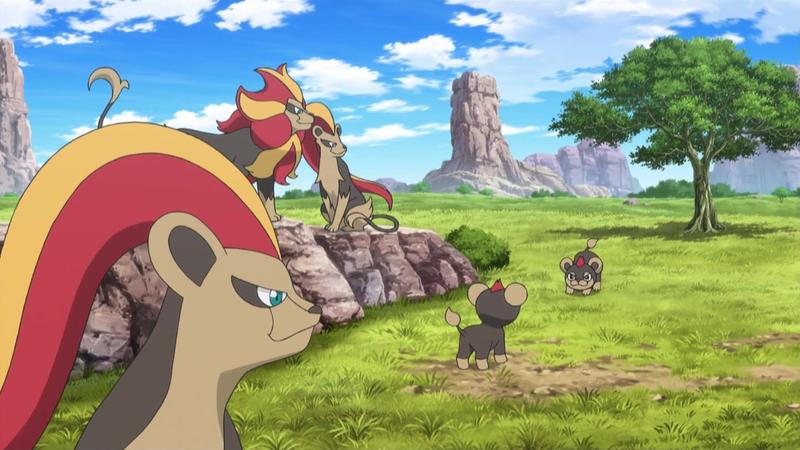 File:Pyroar anime.png