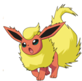 136Flareon BW anime.png